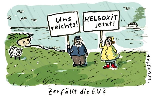 Cartoon Miriam Wurster / Helgoxit